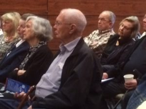 Audience in attendance of gathering 10/23/2018