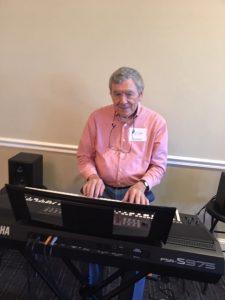 man at the keyboard